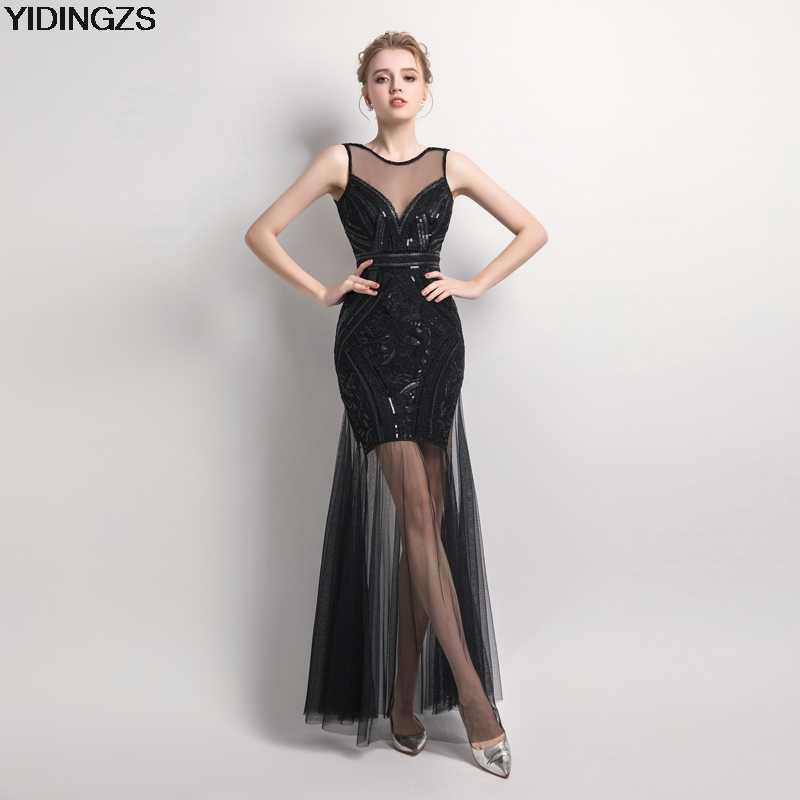 744edc28d43 Подробнее Обратная связь Вопросы о YIDINGZS пикантные черные сапоги  блестками платья для подружки невесты