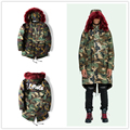 17ss off white PARKA CAMOUFLAGE Winter Warm Hooded Men  Duck Down Coats & Jackets Thicken Outwear  Plus Size