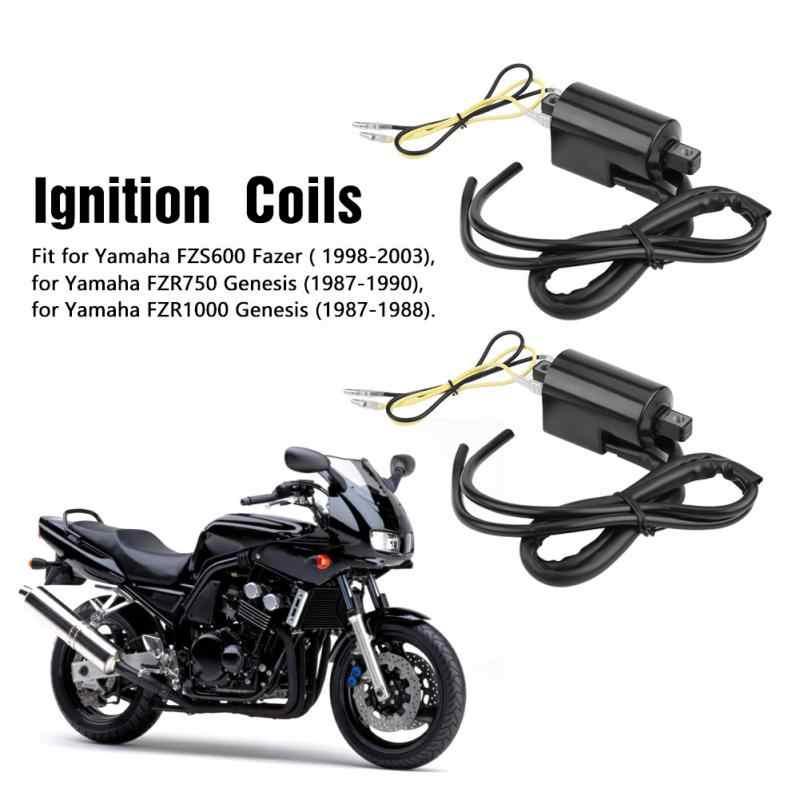[ZHKZ_3066]  2pcs Motorcycle Accessory Ignition Coil for Yamaha FZS600 1998 2003 Fazer  FZR750 1987 1990 FZR1000 1987 1988 for Genesis| | - AliExpress | 1998 Yamaha Fzr600r Cdi Box Wiring |  | AliExpress