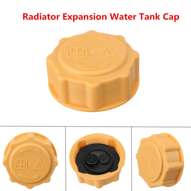 Car Radiator Expansion Water Tank Cap   For Ford For Fiesta Ka Escort For Focus For Fusion Yellow In Radiators Parts From