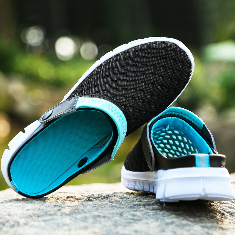 New Brand Men Women Beach Shoes 2015 Summer Fashion Mesh breathable - Kasut lelaki - Foto 3