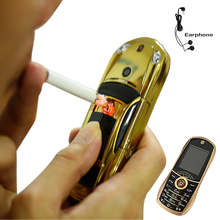 2014 bar small size sport cool supercar lighter car key model cell mini mobile phone cellphone  P499