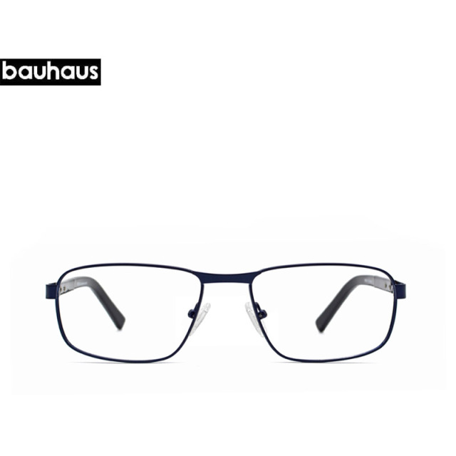 5ef05bf508 bauhaus Vintage Brand Designer Clear Lens Classic Unisex High Quality  Reading Glasses Men Women Optical Metal