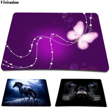 Fashion Casual Office Work Mouse Pad Viviration Computer Gamer Gaming Mousepad Anti-Slip Mice Mat Multi-Element Silicon Mousepad