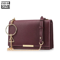 EYESINLOVE Women's Wallet Big Leather Wallet Purse Female Clutch Crossbody Bag Card Holder Pocket Women Wallets Cartera Mujer