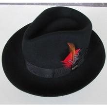 LIHUA Brand 100% wool derby felt billycock hats winter fashion Bowler Hat  wool fedora trilby def831154159