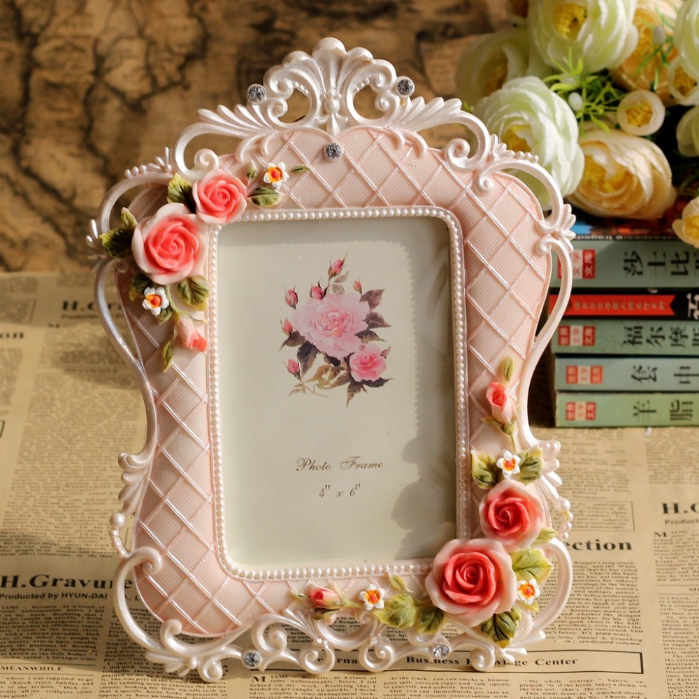 "Wedding Gift Photo Frame: New Arrival Pastoral Style 4x 6"" Wedding Gift Photo Frame"