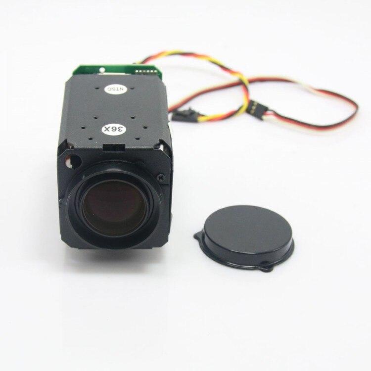 2018 FPV 1/4 Suony 1200TVL HD 30X Zoom Adjustable FPV Camera Module for 1.2G/5.8G Telemetry Drone Multicopter