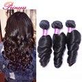 7a Malaysian Virgin Hair Loose Wave 3 Bundles Grace Unprocessed Human Hair Weaving Princess Hair Products Malaysian Loose Wave
