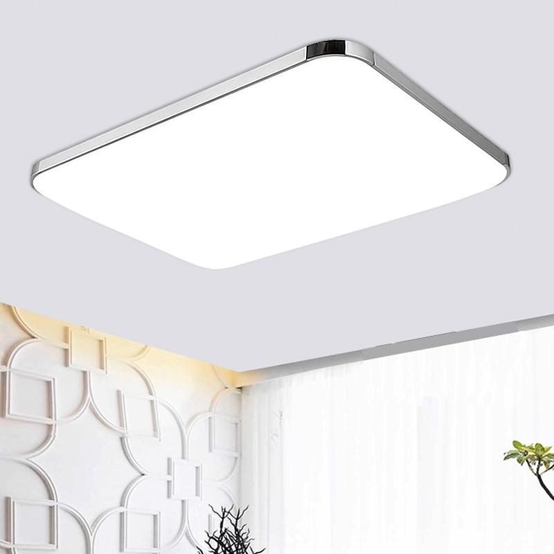 lamparas de techo luz de techo moderna plafoniere lampara techo saln iluminacin del hogar led de