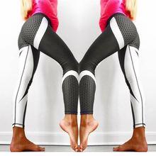 New Fitness leggings Women Mesh Breathable High Waist Sport Legins Femme Workout Legging Push Up Elastic Slim Pants Plus Size цены