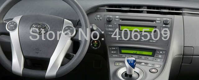 Placeholder 2din Head Unit Car Dvd Player For Toyota Prius 2009 2010 2017 With Gps