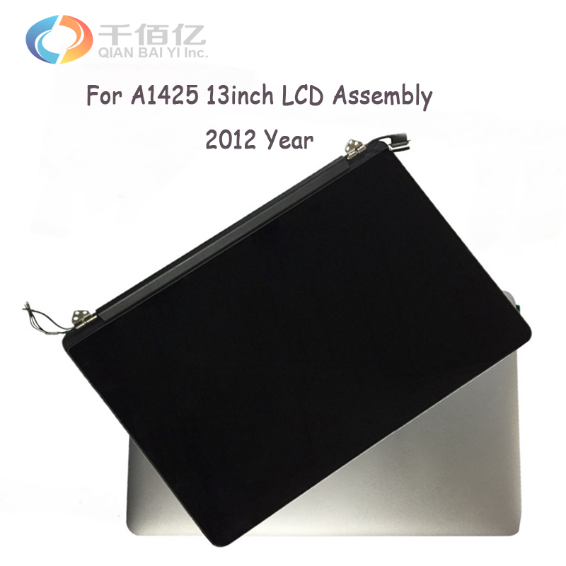 Full New Original A1425 LCD Assembly 2012 For Macbook Pro Retina A1425 Display LED Screen Assembly MD212 MD213 ME662