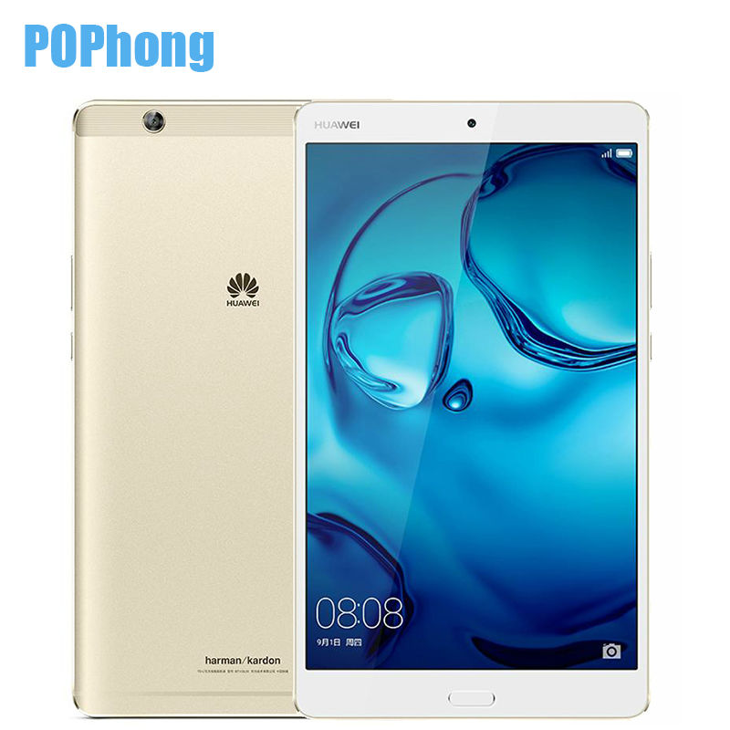 "Prix pour D'origine huawei mediapad m3 4 gb ram 32 gb rom 8.4 ""Android 6.0 2 K Écran LTE/WIFI Tablet PC Kirin 950 Octa base D'empreintes Digitales 8.0MP"