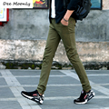 DEE MOONLY 8 colors Spring Summer Business Or Casual Style Pants men slim straight casual long pants fashion multicolor
