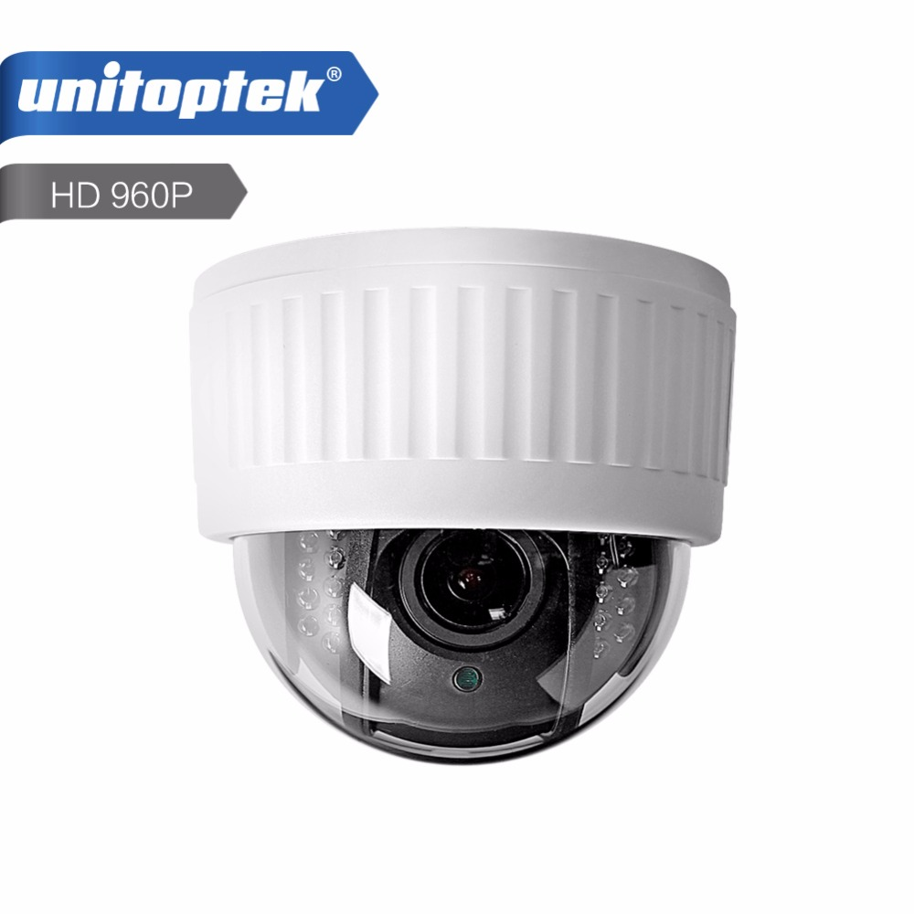 Wireless Speed Dome PTZ IP Camera WIFI CCTV HD 960P Auto Focus 4X Zoom Lens Indoor Audio SD Card IR Night Vision Security Camera 2016 outdoor 1080p wifi ptz camera array ir 2 8 12mm lens 4x optical zoom auto focus waterproof speed dome cam support sd card