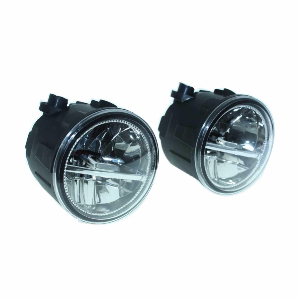 2pcs For Nissan X Trail T31 Closed Off Road Vehicle 2007 2014 Front Xtrail Offroad Modified Fumper Led Fog Lights Car Styling H11 Drl Lamps In Light Assembly From