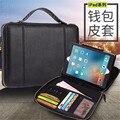 Для ipad air 2 case Кошелек Стиль кожа case для apple iPad air 2 Бизнес защитная крышка для ipad 6 Tablet case 9.7 дюймов