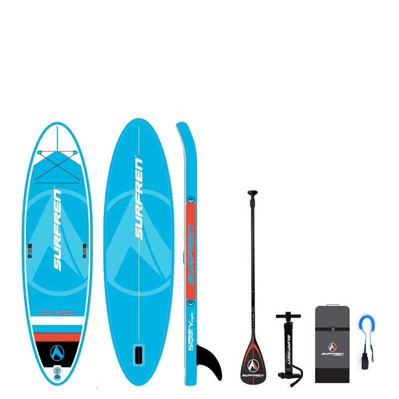 Surf gonflable debout SUP paddle board iSUP Surf paddle Surf SURFREN tout rond SY-320 Yogoboard kayakboat taille 320*86*15cm