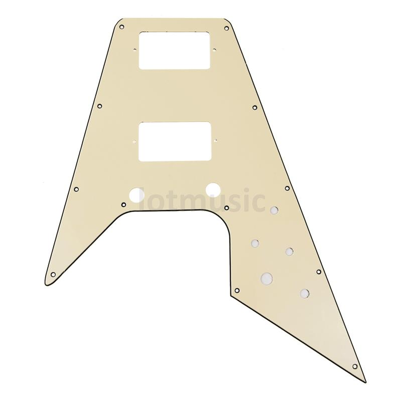 Pickguard Replacement For '67 Reissue Series Flying V - Cream blade 1 enemies reissue