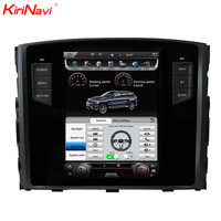 KiriNavi Vertical Screen Tesla Style Android 6.0 10.4 Car Multimedia DVD Player For Mitsubishi Pajero Radio GPS With Bluetooth