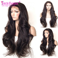 8A Brazilian Human Hair Lace Front Wigs Black Women Loose Wavy Glueless Full Lace Human Hair Wigs With Baby Hair Bleached Knots