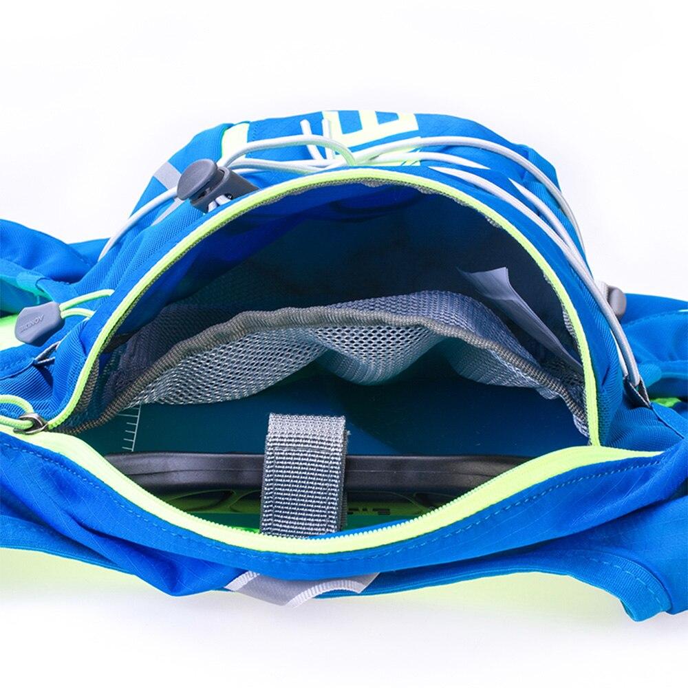 AONIJIE E904S 10L Paquete de hidratación mochila chaleco arnés agua de la vejiga senderismo Camping corriendo maratón carrera deportes - 4
