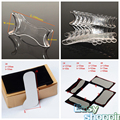 4pcs Dental Intraoral Clinic photography Mirror+10pcs Retractor Mouth Opener
