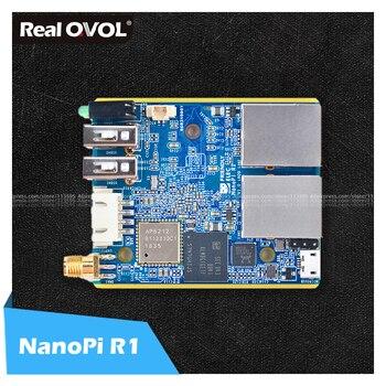 Realqvol friendlyarm elec nanopi r1 allwinner h3 gbps ethernet on-board wifi bluetooth openwrt