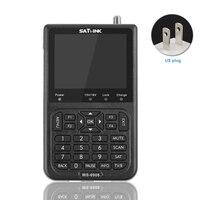 Rechargeable Portable TV HD Digital USB Meter Signal LCD Excellent Sensitivity Tool Satellite Finder For Satlink WS 6906