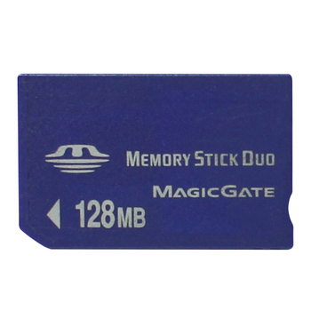 Real Capacity!!! 128MB MS Memory Stick Pro Duo Memory Cards 128MB With Memory Stick Pro Duo Adapter