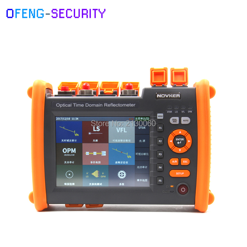 NK5600 OTDR Optical Time Domain Reflectometer High Quality SM 1310-1550nm-30/32dB VFL 5MW Visual Fault Locator