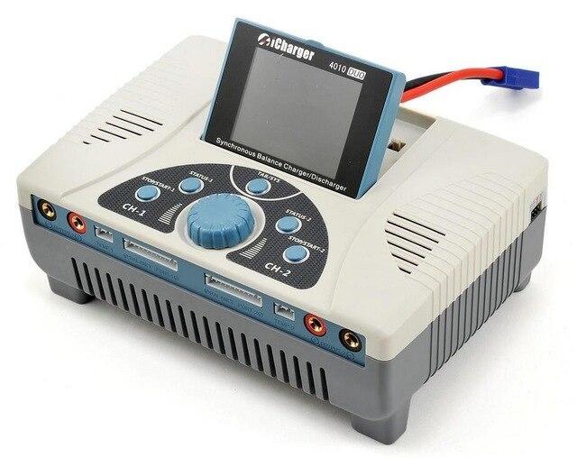 ICharger 2000 w 4010D Alimentation Synchrone Lipo Équilibre de La Batterie Smart & Multi Chargeur RC Voiture et Hélicoptère