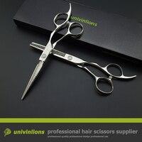 5 5 Damascus Barber Razor Blade Haircut Scissors Japanese Hairdressing Scissors Hairdresser Coiffeur Stainless Steel Sissors