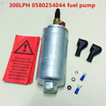 universal external E85 high performance high pressure 300LPH 0580254044 0580 254 044 fuel pump for benz BMW  motorcycle racing