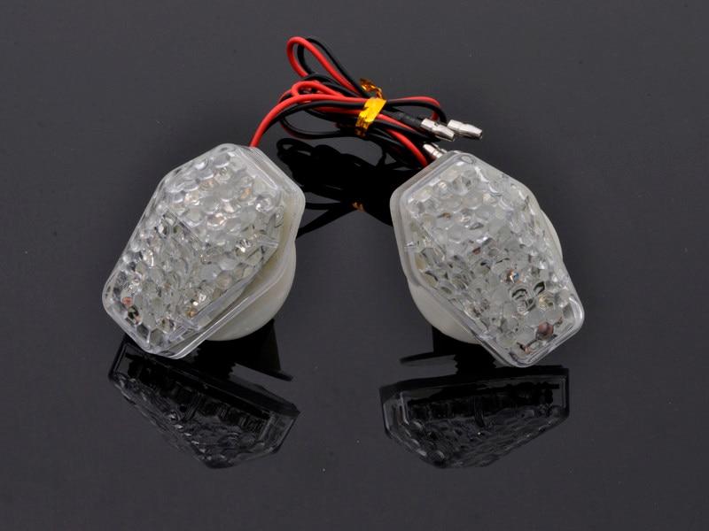 free shipping Flush Mount Clear Lens LED Indicator Light Turn Signal For SUZUKI GSXR1000 GSXR750 GSXR600 Bandit 1250S