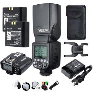 Image 5 - GODOX V860IIC V860IIN V860IIS V860IIO V860IIF ליתיום סוללה TTL 2.4G HSS פלאש Speedlite עבור Canon Nikon Sony אולימפוס פוג י