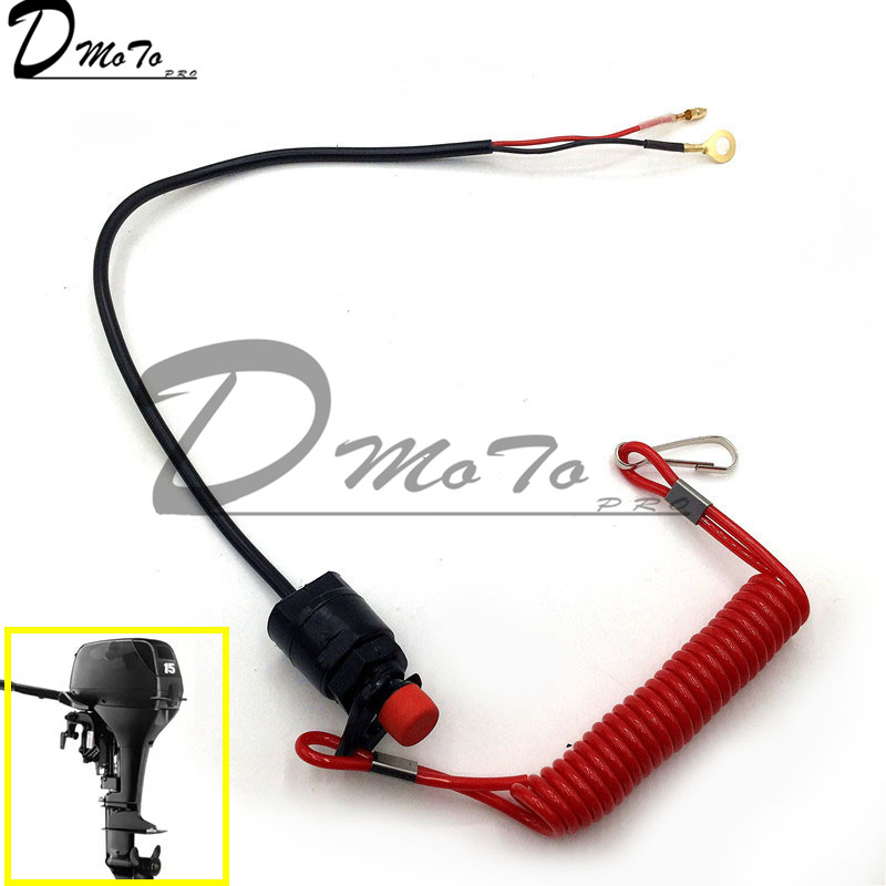 Engine Emergency Kill Stop Switch Closed Safety Push Button For 2 Stroke Pocket Mini Dirt Bike Atv Quad For An Outboard Motor