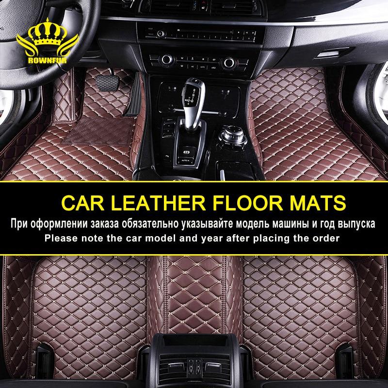 Car Leather Waterproof Floor Mats For Toyota Corolla RAV4 Prado120 Prius Camry Land Cruiser 200 Mazda Ford Focus Hyundai Peugeot