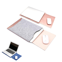 """13.three"""" Slim Transportable Flip Laptop computer Bag Excessive High quality Fake Leather-based Holster Retro Pocket book Protecting Sleeve For Macbook air Professional Nov16"""