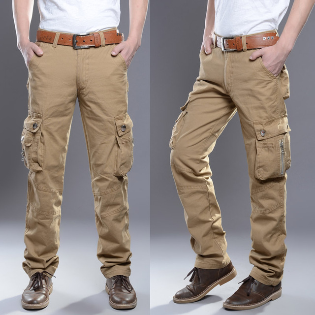 Aliexpress.com : Buy 2016 Fall Mens Rugged Cargo Pants Milltary ...