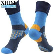 Men high quality knee-high Waterproof/Windproof Winter Thermal Warmer Breathable Women Coolmax Snowboard Socks