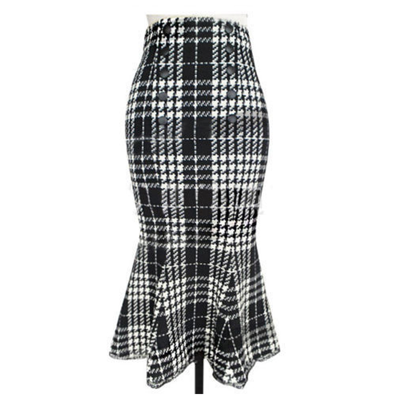 Compare Prices on Plaid Pencil Skirt- Online Shopping/Buy Low ...