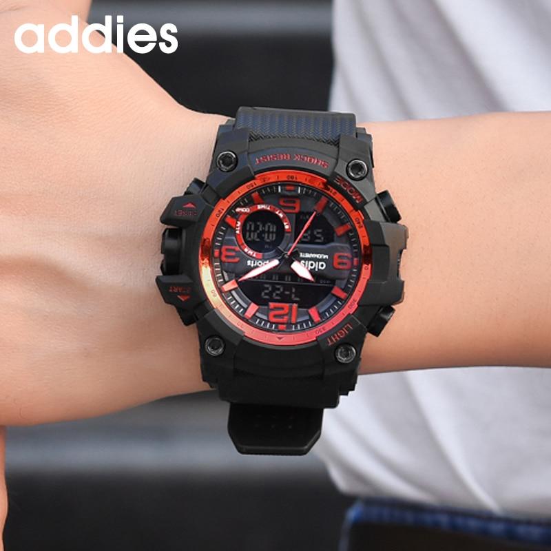 AIDIS Men Military Watch 30m Vattentät Armbandsur LED Quartz Clock - Herrklockor - Foto 6