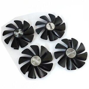 1 pièces nouveau Original pour saphir RADEON RX VEGA 56 RX580 RX590 RX570 RX480 RX470 carte graphique ventilateur de refroidissement