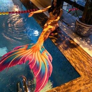 Хвост русалки для плавания, плавучий артефакт костюм русалки для косплея