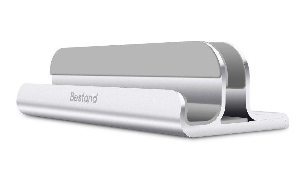 Vertikale Laptop-Aluminium Legierung-Bestand 2 in 1 Notebooks Stehen Halter für ALLE Universal telefon