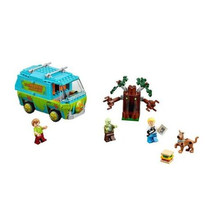 Bela 10430 Scooby Doo Mystère Machine Bus Figurines Building Block Figurine Jouets Compatible Avec lepin