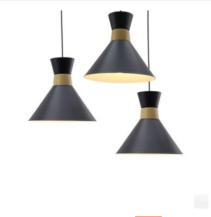 Modern Pendant Lights Restaurant Nordic Style Solid Wood Art Club Milk Tea Shop Cafes Bar Creative