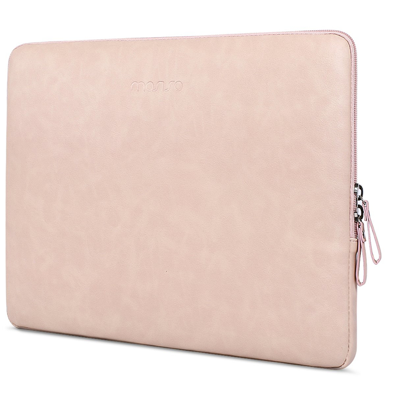 Image 5 - MOSISO PU Leather Laptop Sleeve for MacBook Air 13 inch Water resistant Notebook Case for MacBook Pro 13 Retina 13 Laptop Bag Ca-in Laptop Bags & Cases from Computer & Office
